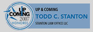 Up and Coming Attornies - Todd Stanton